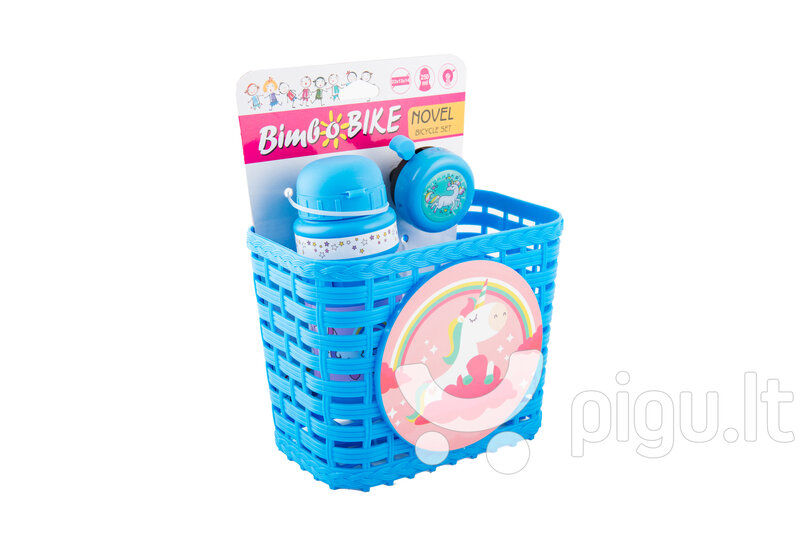 Dviračio krepšys Bimbo Bike, vienaragis, rožinis pigiau