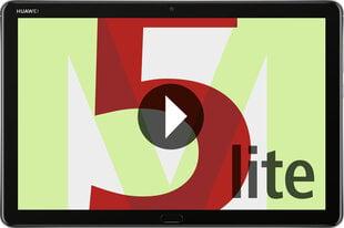 Huawei MediaPad M5 Lite 64GB, 4G, Pilka kaina ir informacija | Planšetiniai kompiuteriai | pigu.lt
