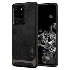 Spigen Neo Hybrid Galaxy S20 Ultra Gunmetal kaina ir informacija | Telefono dėklai | pigu.lt
