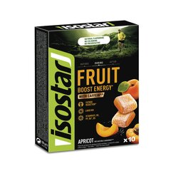 Isostar marmeladas Energy Fruit Boost Apricot (10x10g) kaina ir informacija | Energetikai | pigu.lt
