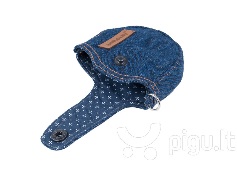 Pavadėlio dėklas Amiplay Denim Navy Blue, S internetu