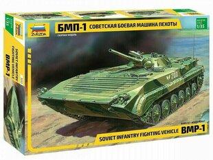 Сборная модель Zvezda 3553 Soviet Infantry Fighting Vehicle BMP-1  1:35  цена и информация   Сборная модель Zvezda 3553 Soviet Infantry Fighting Vehicle BMP-1  1:35    pigu.lt