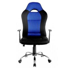Žaidimų kėdė NORE Dark Gamer, juoda/mėlyna kaina ir informacija | Biuro kėdės | pigu.lt