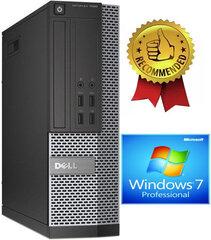 Dell 7020 SFF i5-4670 4GB 960GB SSD 500GB Windows 7 Professional kaina ir informacija | Dell 7020 SFF i5-4670 4GB 960GB SSD 500GB Windows 7 Professional | pigu.lt
