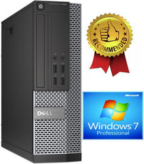 Dell 7020 SFF i5-4670 8GB 480GB SSD 2TB Windows 7 Professional kaina ir informacija | Dell 7020 SFF i5-4670 8GB 480GB SSD 2TB Windows 7 Professional | pigu.lt