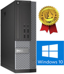 Dell 7020 SFF i5-4670 32GB 500GB Windows 10 kaina ir informacija | Dell 7020 SFF i5-4670 32GB 500GB Windows 10 | pigu.lt