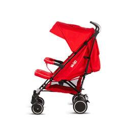 Sportinis vežimėlis-skėtukas Willi, raudonas kaina ir informacija | Vežimėliai | pigu.lt