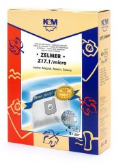 Dulkių maišeliai K&M Z17.1, 4 vnt. + mikro filtras kaina ir informacija | Dulkių siurblių priedai | pigu.lt