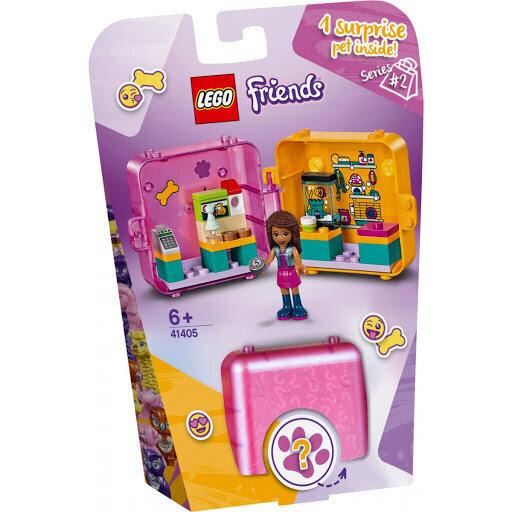 41405 LEGO® Friends Andrea pirkinių žaidimų kubelis