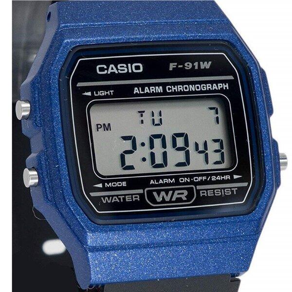 Laikrodis Casio F-91WM-2AEF atsiliepimas