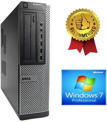 Dell Optiplex DT 790 i5-2400S 16GB 480GB SSD 500GB HDD Windows 7 Pro kaina ir informacija   Stacionarūs kompiuteriai   pigu.lt