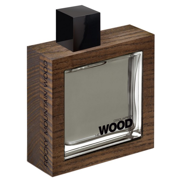 Tualetinis vanduo Dsquared² He Wood Rocky Mountain Wood EDT vyrams 100 ml