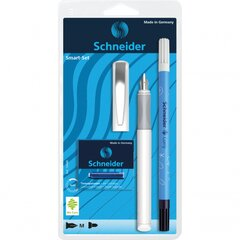 Rinkinys Schneider: plunksnakotis SMART + korektorius Corry + 6 kapsulės цена и информация | Письменные принадлежности | pigu.lt