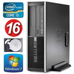 HP 8100 Elite SFF i5-750 16GB 320GB NVS295 DVD WIN7Pro kaina ir informacija | Stacionarūs kompiuteriai | pigu.lt