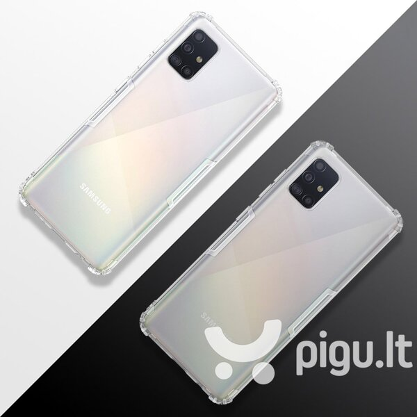 Nillkin Nature TPU Case Gel Ultra Slim Cover for Samsung Galaxy A51 transparent internetu