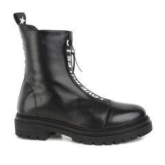 Juodi moteriški aulinukai Lorenzo kaina ir informacija | Aulinukai, ilgaauliai batai moterims | pigu.lt