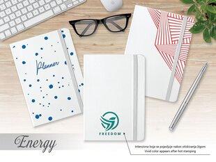 Darbo knyga Energy A5, linija kaina ir informacija | Verslo dovanos | pigu.lt