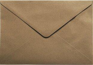 Vokai Kraft C5, rudi, 10vnt цена и информация | Конверты, открытки | pigu.lt