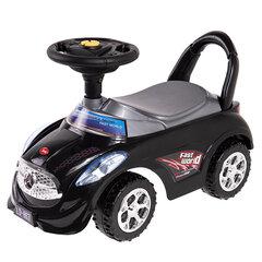 Smiki paspiriama mašinėlė Sit n' Ride With Me, juoda kaina ir informacija | Smiki paspiriama mašinėlė Sit n' Ride With Me, juoda | pigu.lt