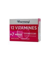 Maisto papildas 12 vitaminų + 7 mikroelementai kaina ir informacija | Vitaminai ir maisto papildai gerai savijautai | pigu.lt
