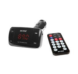 ACME automobilinis MP3 grotuvas/FM bangų moduliatorius F100