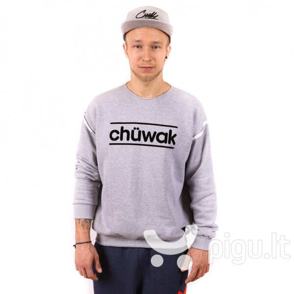 Džemperis Chuwak Crew Neck Grey Unisex