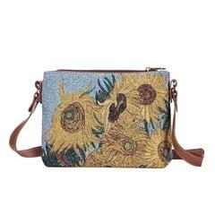 Rankinė per petį moterims Signare Sunflower цена и информация | Женские сумки | pigu.lt