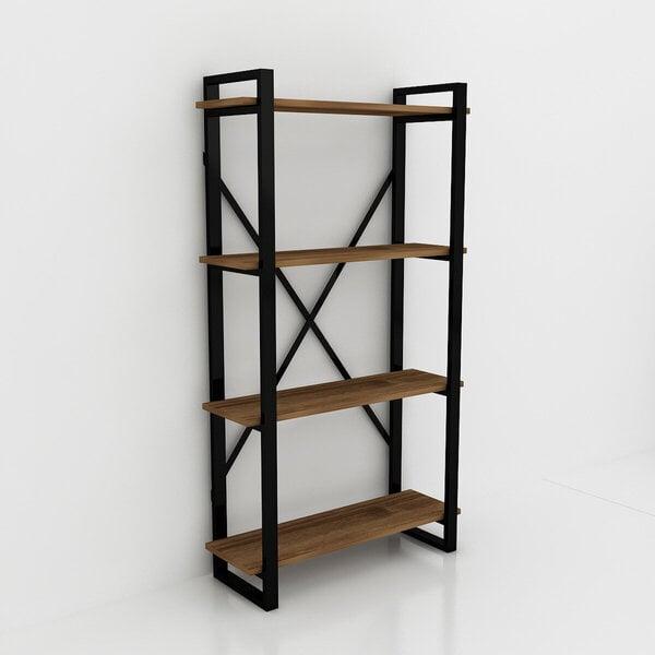 Pastatoma lentyna Kalune Design Albatros, ruda/juoda