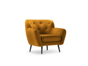 Fotelis Micadoni Home Mica, geltonas kaina ir informacija | Svetainės foteliai | pigu.lt