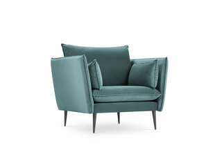 Fotelis Micadoni Home Agate, tamsiai žalias/juodas kaina ir informacija | Fotelis Micadoni Home Agate, tamsiai žalias/juodas | pigu.lt
