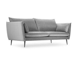 Sofa Micadoni Home Agate 3S, šviesiai pilka kaina ir informacija | Sofa Micadoni Home Agate 3S, šviesiai pilka | pigu.lt