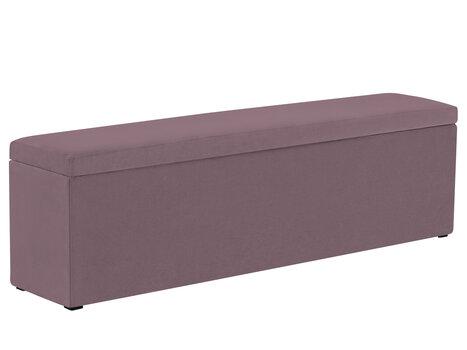 Pufas su daiktadėže Mazzini Sofas Ancona 130, violetinis kaina ir informacija | Sėdmaišiai ir pufai | pigu.lt