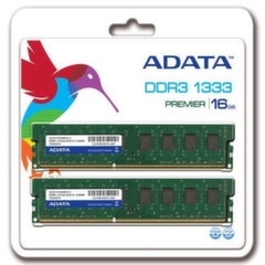 A-Data 16GB 1333MHz DDR3 CL9 KIT OF 2 AD3U1333W8G9-2