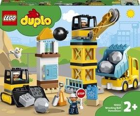 10932 LEGO® DUPLO® Town Griovimas griovimo rutuliu kaina ir informacija | Konstruktoriai ir kaladėlės | pigu.lt