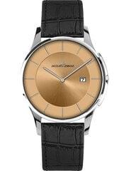 Часы Jacques Lemans 1-1777J цена и информация | Мужские часы | pigu.lt