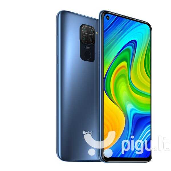 Xiaomi Redmi Note 9, 64 GB, Dual SIM, Grey