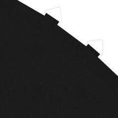 Kilimėlis 15 pėdų/4,57m apvaliam batutui, juodas, audinys цена и информация | Батуты | pigu.lt