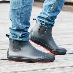 Vyriški guminiai aulinukai Nordman Beat PS 30 BIO PVC juodi su raudonu padu kaina ir informacija | Vyriški batai | pigu.lt