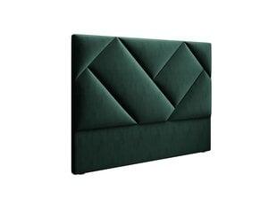 Lovos galvūgalis Interieurs86 Haussmann 140 cm, žalias kaina ir informacija | Lovos | pigu.lt