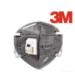 Respiratorius 3M 9541V FFP2 su anglies filtru 1 vnt kaina ir informacija | Respiratorius 3M 9541V FFP2 su anglies filtru 1 vnt | pigu.lt