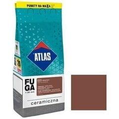 Keraminis siūlių glaistas Atlas 023, 2 kg, rudas kaina ir informacija | Gruntai, glaistai ir kt. | pigu.lt