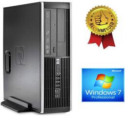 HP Compaq Elite 8100 Intel® Core™ i5-650 4GB 960GB SSD GTX1650 4gb DVD Windows 7 Professional kaina ir informacija | Stacionarūs kompiuteriai | pigu.lt