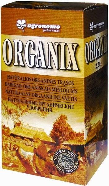 Agronomo patarimas® Organix granuliuotos organinės trąšos , 2 kg kaina ir informacija | Birios trąšos | pigu.lt
