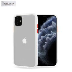 Vennus Color button series TPU back cover case for Xiaomi Redmi 8 Transparent kaina ir informacija | Telefono dėklai | pigu.lt
