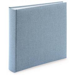 Nuotraukų albumas Summertime Trend su kišenėmis 200 nuotraukų, 10x15 cm pilkai mėlyna kaina ir informacija | Rėmeliai, nuotraukų albumai | pigu.lt