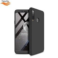 TakeMe Ultra slim 3 parts 360 Protection Back Full cover case for Samsung Galaxy A9 2018 (A920) / Galaxy A9 Star Pro / Galaxy A9s Black kaina ir informacija   Telefono dėklai   pigu.lt