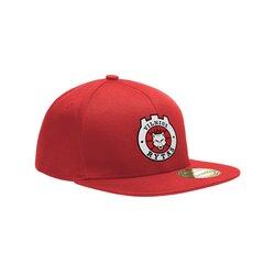 Vilniaus Ryto Snapback kepurė su logotipu, raudona kaina ir informacija | Lietuviška sirgalių atributika | pigu.lt