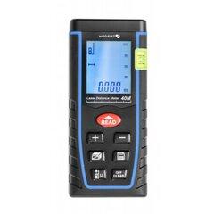 Lazerinis atstumo matuoklis iki 40m Hoegert HT4M321 kaina ir informacija | Mechaniniai įrankiai | pigu.lt