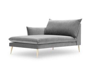 Kušetė Milo Casa Elio, šviesiai pilkos/auksinės spalvos kaina ir informacija | Sofos | pigu.lt