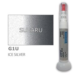 Карандаш-корректор для устранения царапин SUBARU G1U - ICE SILVER 12 ml цена и информация | Карандаш-корректор для устранения царапин SUBARU G1U - ICE SILVER 12 ml | pigu.lt